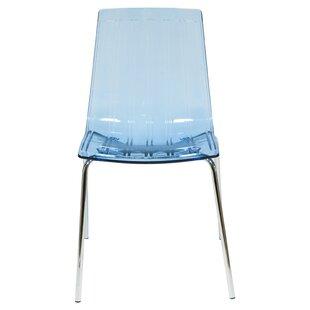 Rachael Stacking Patio Dining Chair (Set of 2) Orren Ellis