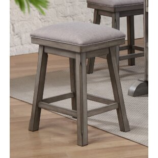 Vergara 24 Saddle Bar Stool (Set of 2)