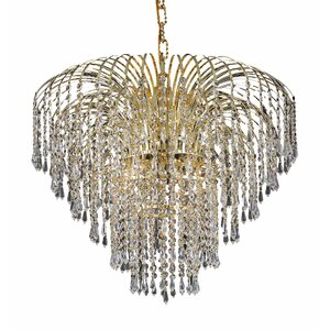 Westrem 6-Light Crystal Chandelier