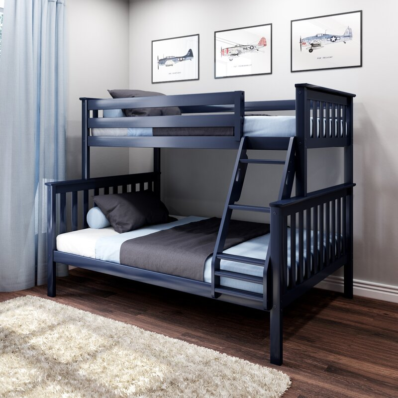 Bolles Twin Over Full Bunk Bed Reviews Birch Lane