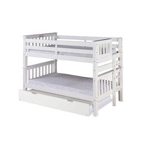 Trundle White Bunk Loft Beds You Ll Love Wayfair