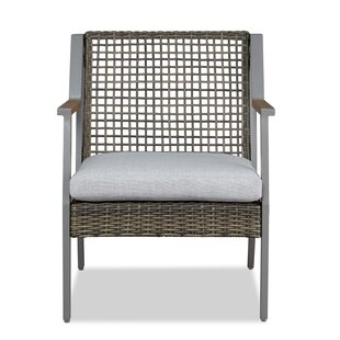 Calvin Patio Chair With Cushion (Set of 2)
