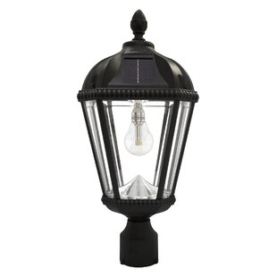 Gama Sonic Royal Solar Powered 1-Light LED Lantern Head
