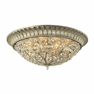 Lark Manor Belleterre 8-Light Flush Mount