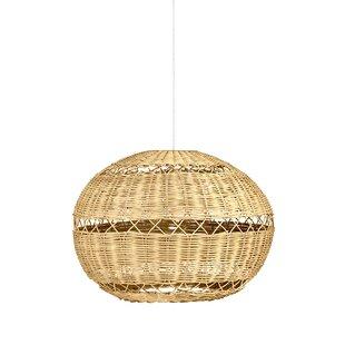 Open Weave 1-Light Pendant..