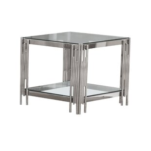 Best Price Hardesty End Table By Mercer41