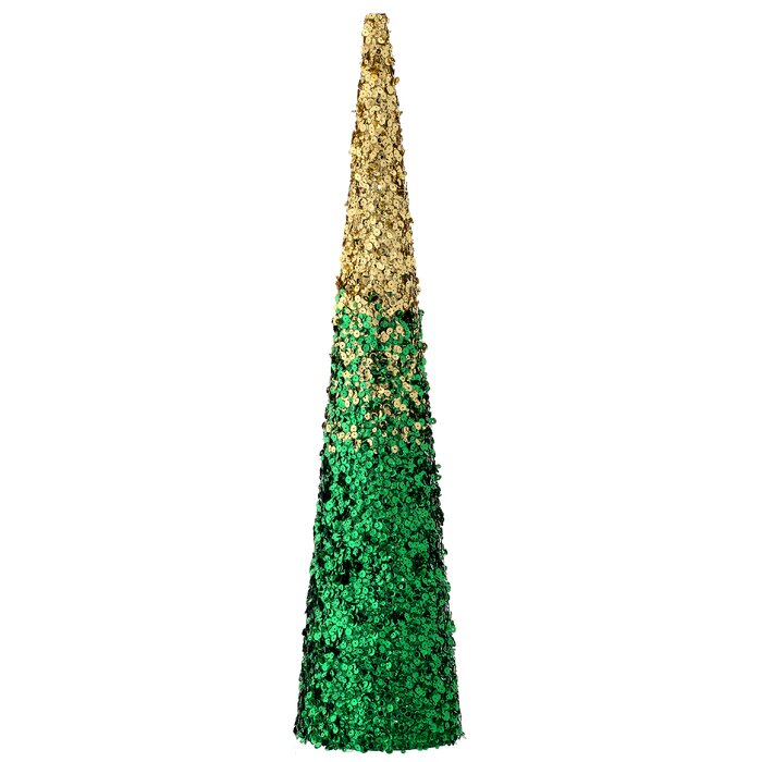 cone christmas tree decor