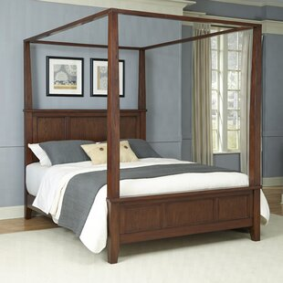 Three Posts Borden Canopy 3 Piece Bedroom Set