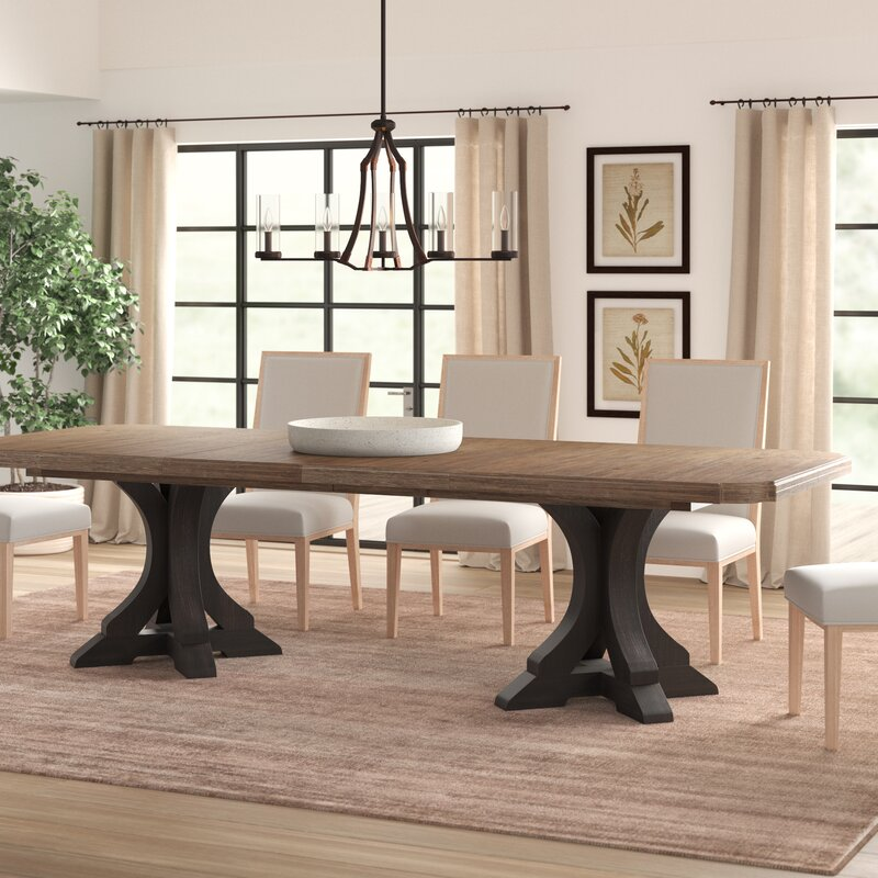 16 Absolutely Gorgeous Mediterranean Dining Room Designs: Hooker Furniture Corsica Extendable Dining Table & Reviews