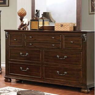 Charlton Home Paola 7 Drawer Double Dresser