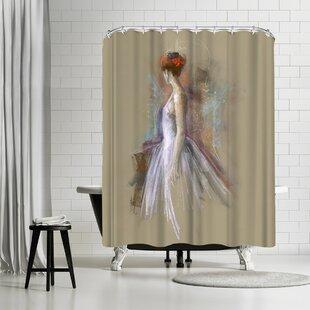 Anne Farrall Doyle Annie 9 Single Shower Curtain