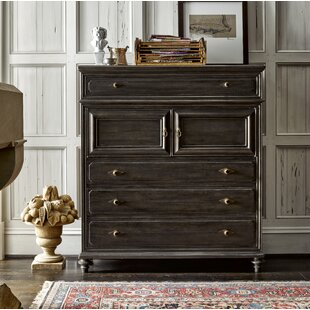 Gallaway Front 4 Drawer Combo Dresser