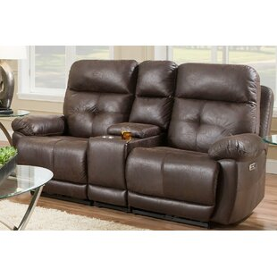 Dillinger Console Reclining Loveseat Red Barrel Studio