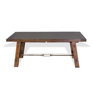 Loon Peak Hardin Extendable Solid Wood Di..