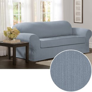 Reviews Box Cushion Sofa Slipcover (Set of 2) by Red Barrel Studio Reviews (2019) & Buyer's Guide