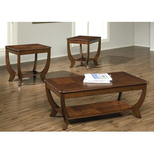 Lynette 3 Piece Coffee Table Set Fleur De Lis Living