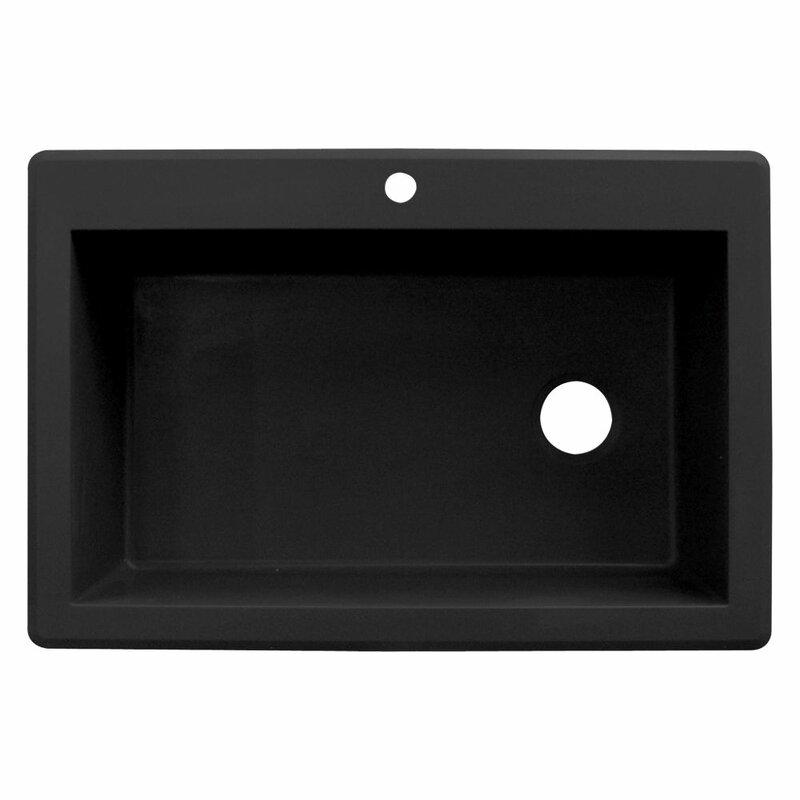 Granite Single Bowl Kitchen Sink Transolid radius 33 x 22 granite single bowl drop in kitchen sink radius 33 x 22 granite single bowl drop in kitchen sink workwithnaturefo