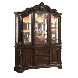 Esplanade Lighted China Cabinet by Astoria Grand