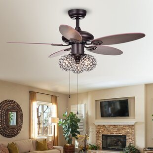 Find the perfect 42 Atmore 5 Blade Ceiling Fan By House of Hampton