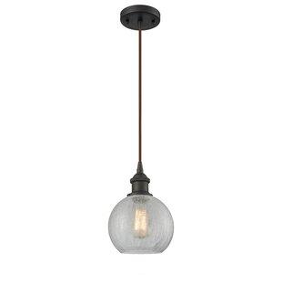 Garduno 1-Light Globe Pendant by Brayden Studio