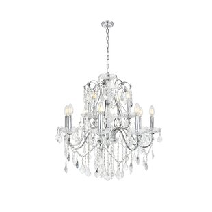 Thao 12-Light Crystal Chandelier by Rosdo..