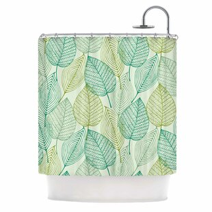 'Make Like a Tree' Single Shower Curtain