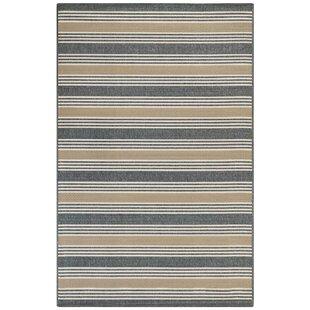 Roby Stripe Blue/Gray Indoor/Outdoor Area Rug