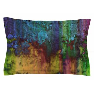 Nina May 'Rainbow Saltwater' Painting Sham