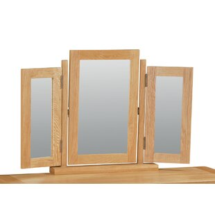 Benjamin Rectangular Dressing Table Mirror By Union Rustic
