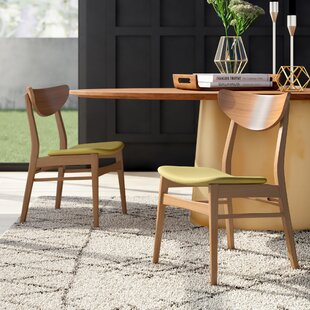 Lillis Solid Wood Upholstered Dining Chai..
