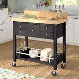Cofer Kitchen Cart by Red Barrel Studio®