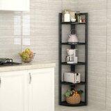 Leyhill Corner Bookcase by Ebern Designs