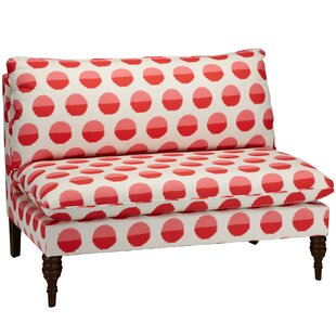 Adalynn Armless Loveseat by Ivy Bronx No Copoun