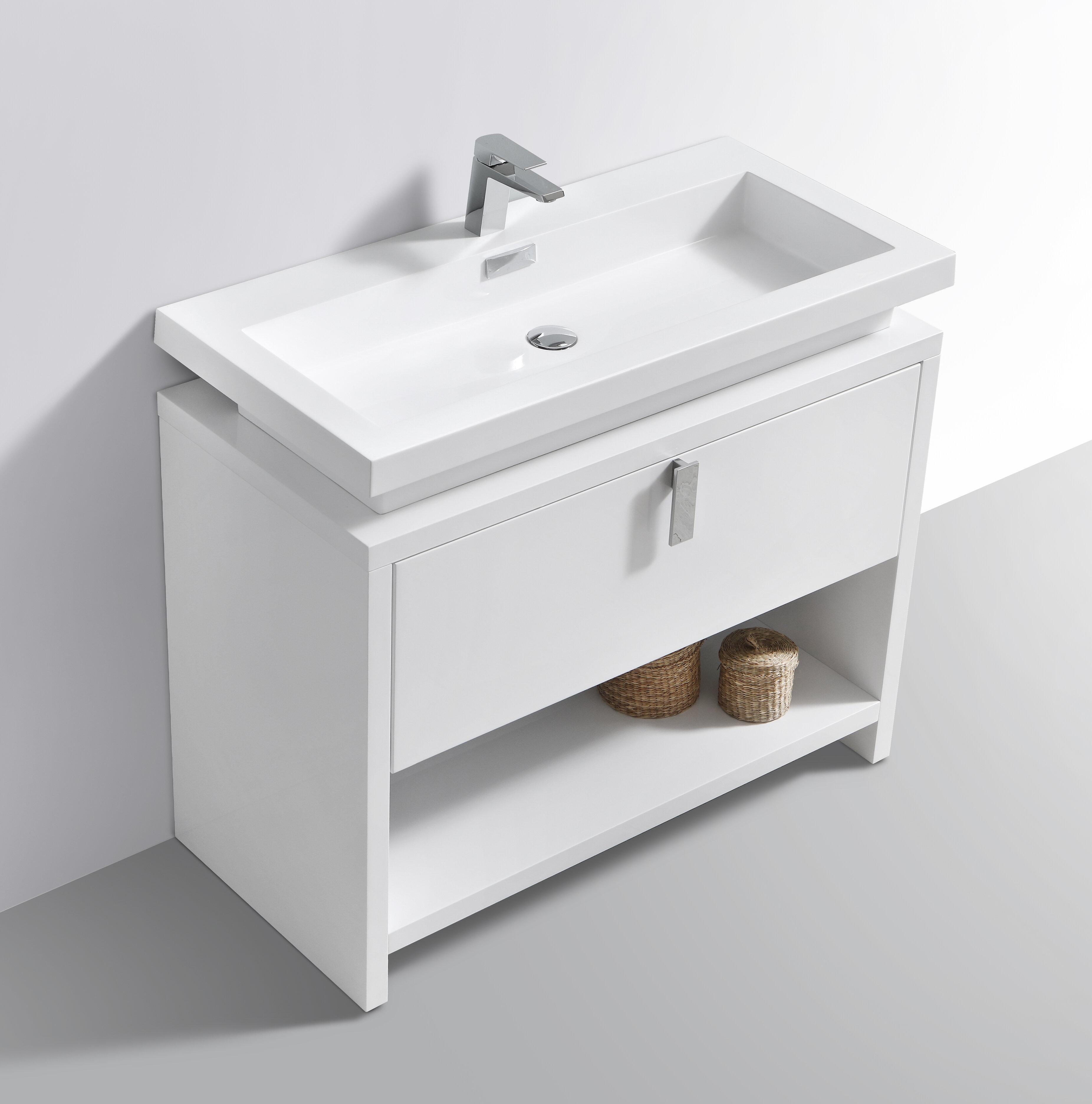 Orren Ellis Haycraft 38 Single Bathroom Vanity Set Reviews