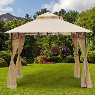 10 Ft. W x 10 Ft. D Metal Patio Gazebo by Outsunny