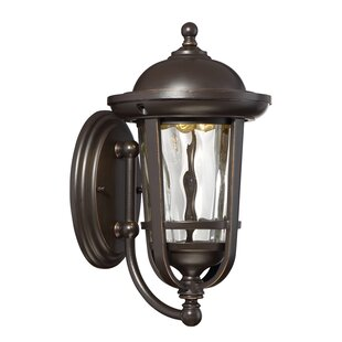 Price Check Westbrooke 1-Light Outdoor Wall Lantern By Designers Fountain