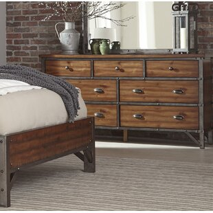 Williston Forge Haverhill 7 Drawer Dresser
