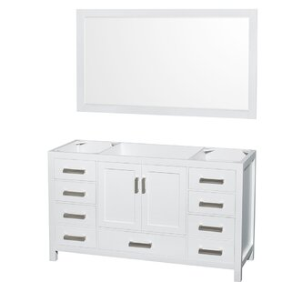 Sheffield 59 Single Bathroom Vanity Base by Wyndham Collection