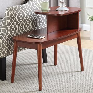 Darcey Mid-Century End Table by Ebern ..