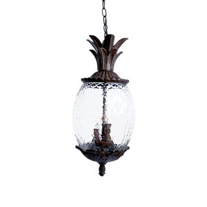 Kyra 3-Light Outdoor Pendant