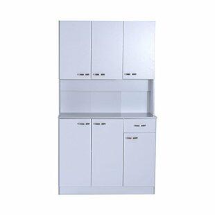 Thigpen 71 Buffet Server Microwave Storage Sideboard by Red Barrel Studio
