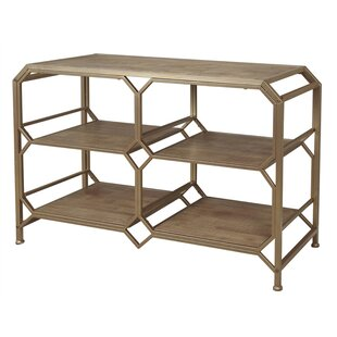 Laflamme Wooden and Metal Console Table by Brayden Studio