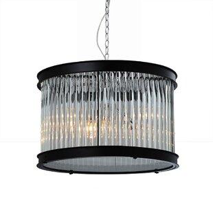 Bromi Design Sussex 1-Light Crystal Pendant