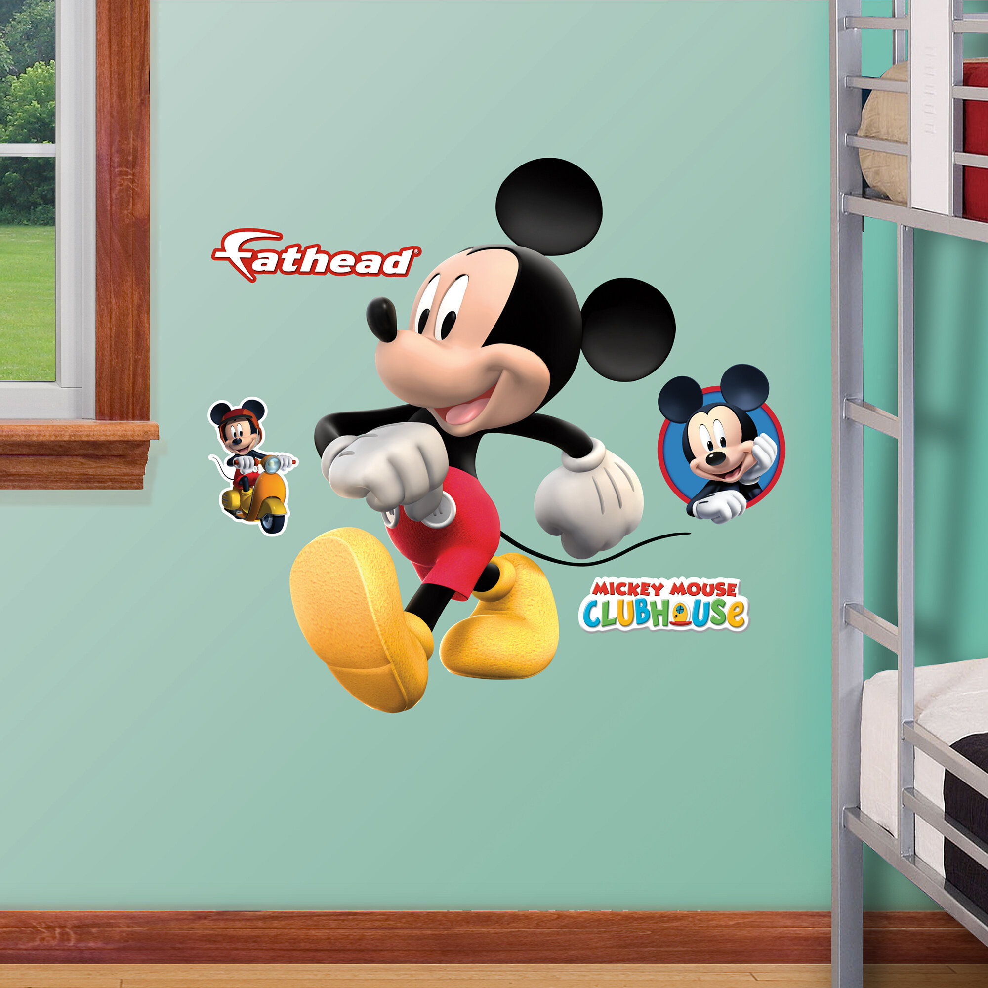 . Disney Mickey Mouse Wall Decal