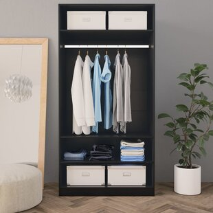 Roybal 100cm Wide Clothes Storage System By Ebern Designs
