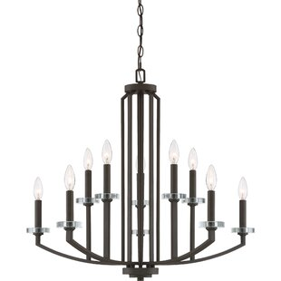 Enders 10-Light Chandelier by Charlton Home