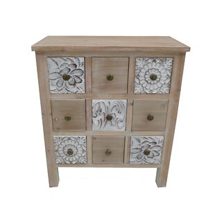 Boyabat 9 Drawer Accent Cabinet by Bungalow Rose