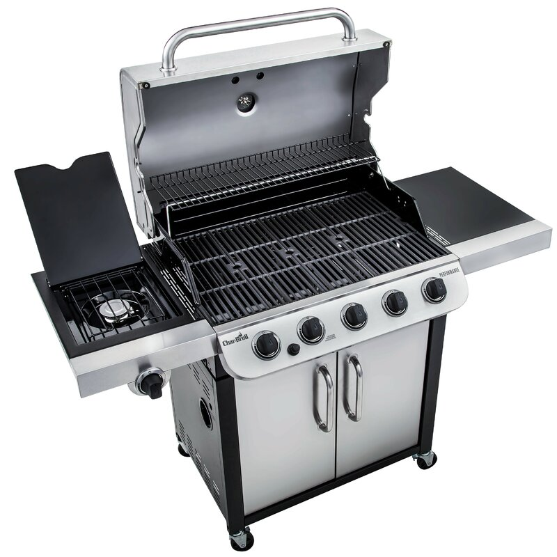 CharBroil Performance 5-Burner Propane Gas Grill with ...