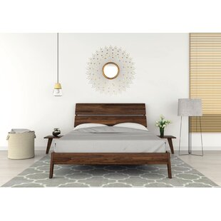 Linn Solid Wood Platform Bed