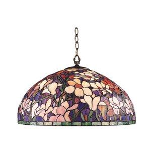 JB Hirsch Home Decor Magnolia 1-Light Dome Pendant